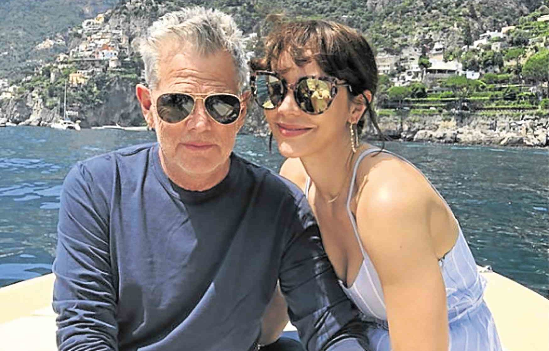 David Foster and Katharine McPhee marry in London