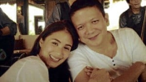 Senator Francis Escudero with girlfriend Heart Evangelista in an out-of-town vacation. INQUIRER file photo